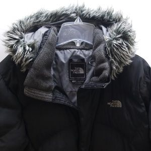 THE NORTH FACE GIRLS PUFFER JACKET